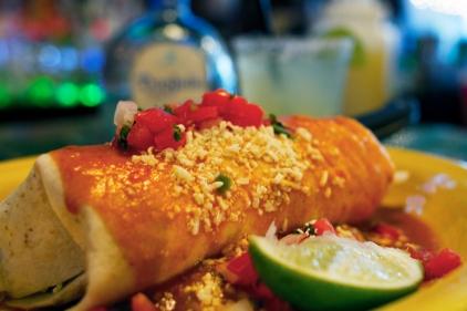 Blue Agave Burrito
